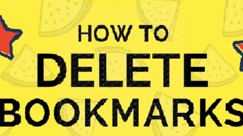 How to delete bookmark