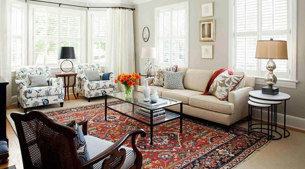 Home with Traditional Rugs