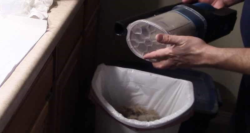 Clean Shark Vacuum Dust Container