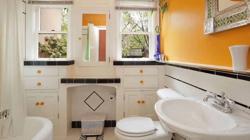 What is the most popular color to paint a bathroom?